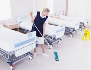healthcare facility cleaning HRM